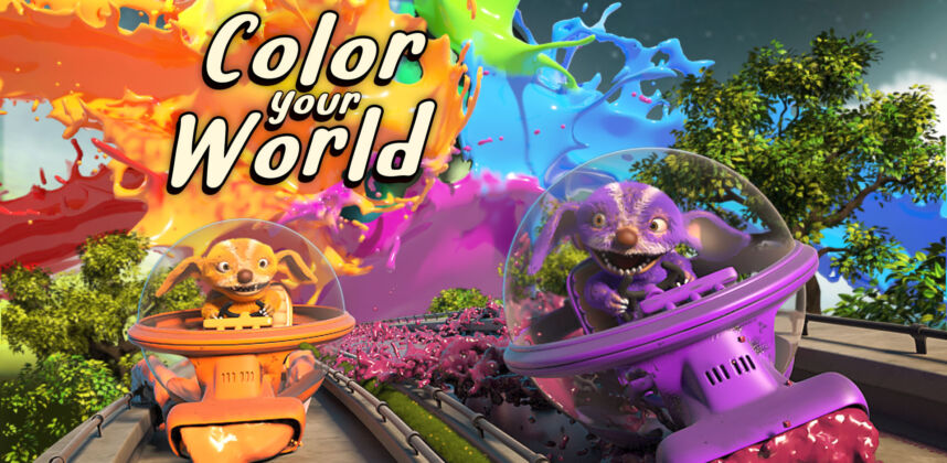 Color Your World Nintendo Switch