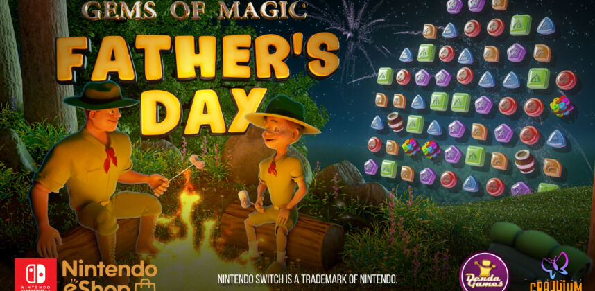 Gems of Magic: Father's Day Nintendo Switch