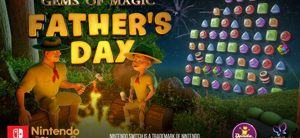 Gems of Magic: Father's Day